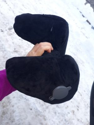 New H Shape Inflatable Travel Pillow photo review