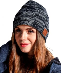 Winter Fashion Knitted Wireless Beanie Cap