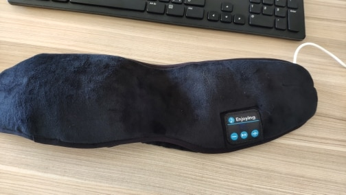 Wireless Bluetooth Earphone Sleep Mask photo review
