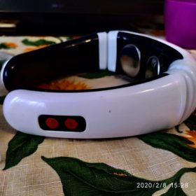 Infrared Heating Pain Relief Electric Neck Massager photo review